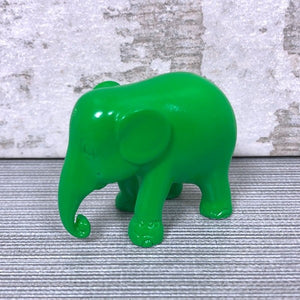 5cm Emerald Green Elephant