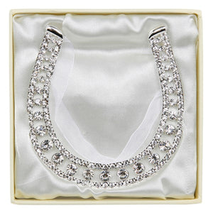Diamanté Lucky Horseshoe