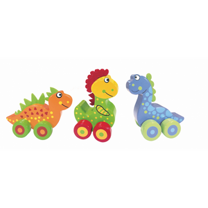 First Dinosaurs on Wheels