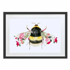 Wildlife Botanical Bee Wall Art