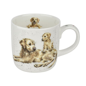Golden Dog 'Devotion' Mug