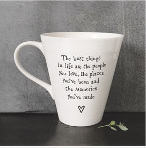 Porcelain Mug- Best Things in Life