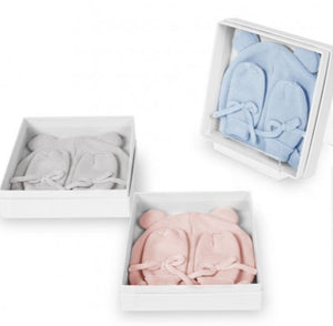 Beautifully Boxed Baby Hat & Mittens