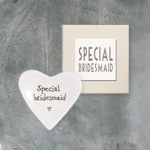 Bridesmaid Heart Dish
