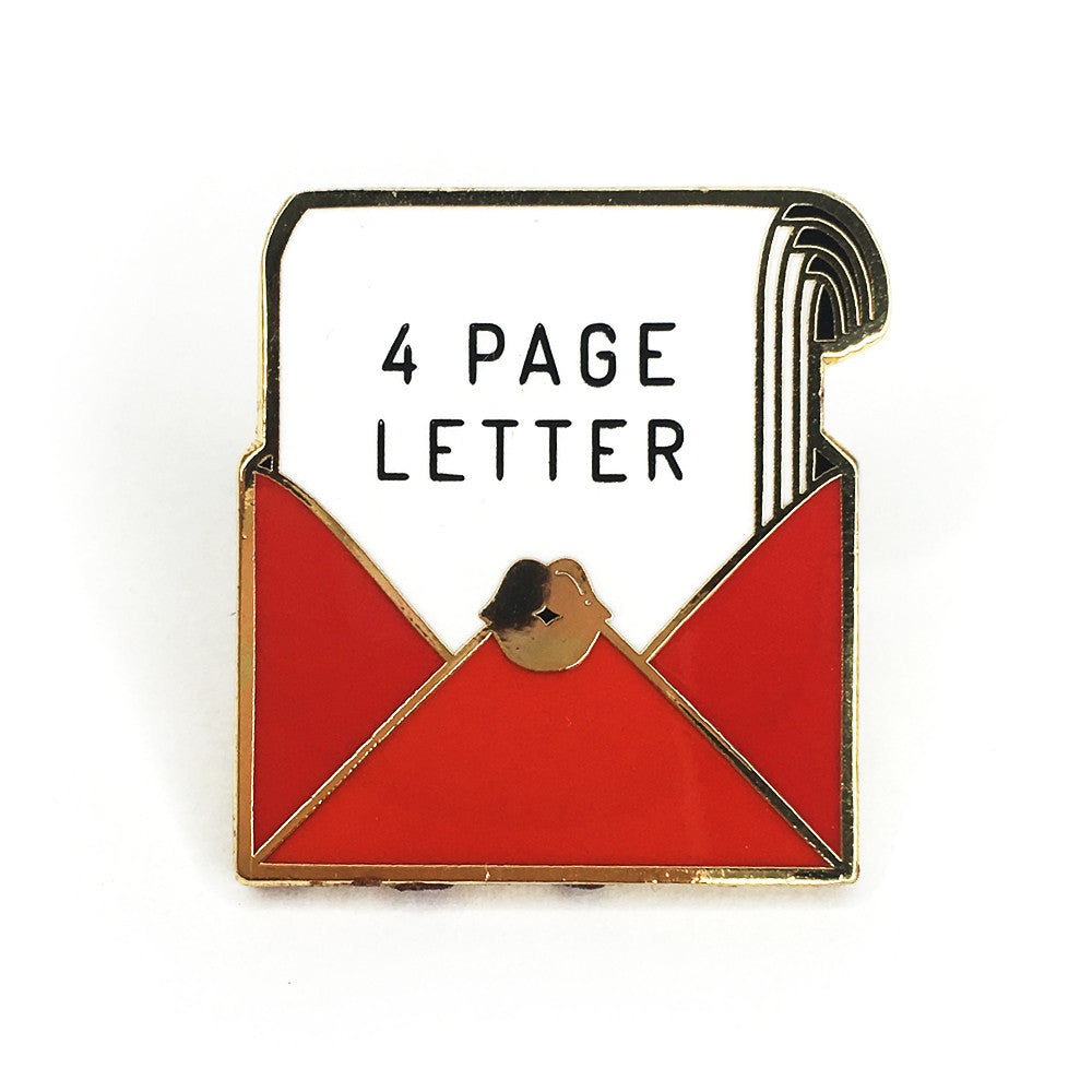 4 Page Letter Pin