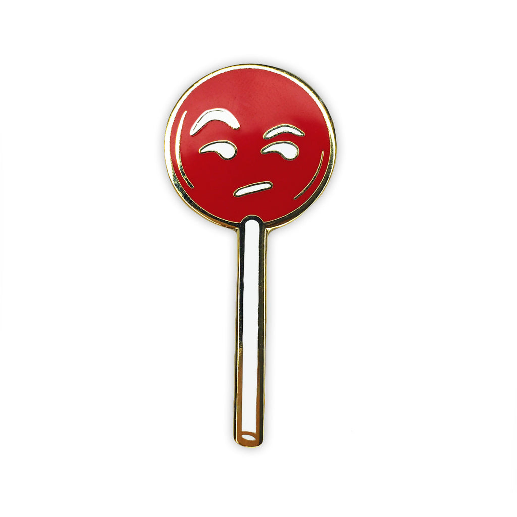 JudgeyPop Pin