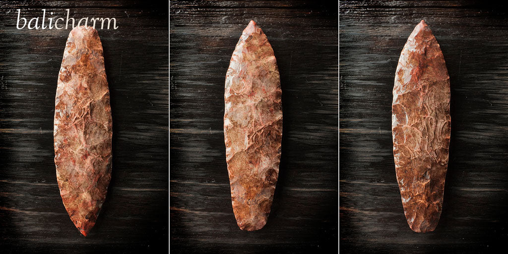 North American Indian chert lance blade from Missouri, USA