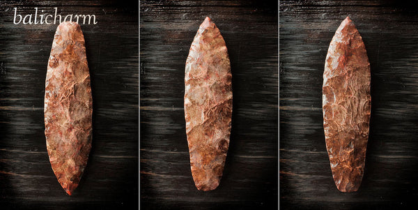 Native American Indian flint/chert lancehead blade for sale at Bali Charm