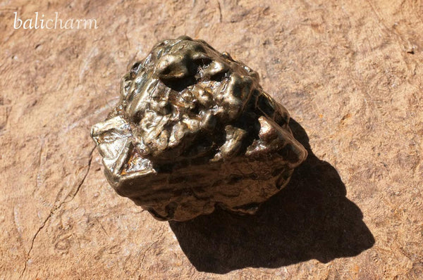 Nantan Nickel-Iron Composition Meteorite from Guangxi, China #08 (106 gm)