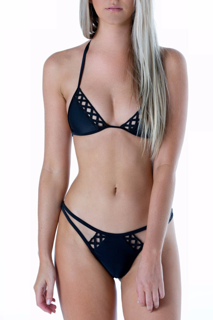 Cacharel Bikini Set Black