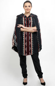 Handwoven Ikat Cape