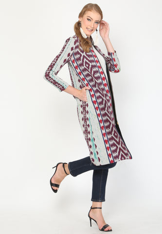 Handwoven Ikat Urban jacket