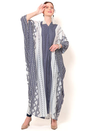 Kanzi Long Sleeve Classical Kaftan