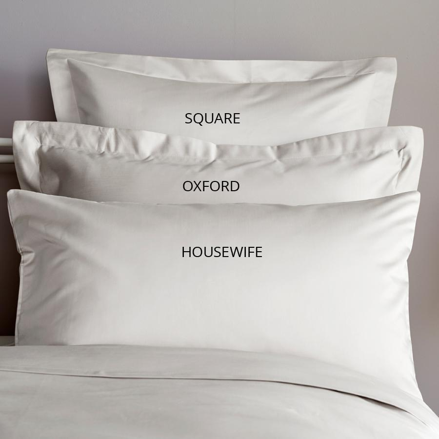 pillowcase sizes and terminology explained bed and bath emporium ltd. Black Bedroom Furniture Sets. Home Design Ideas