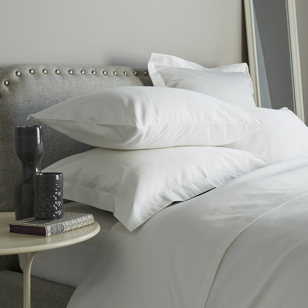 Behrens 1000 Thread Count Duvet Cover White SUPER KING