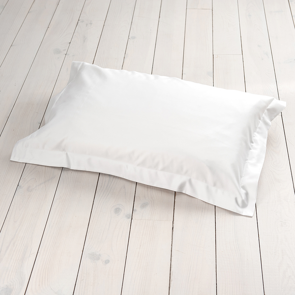 Behrens 1000 Thread Count OXFORD Pillowcase White - Single