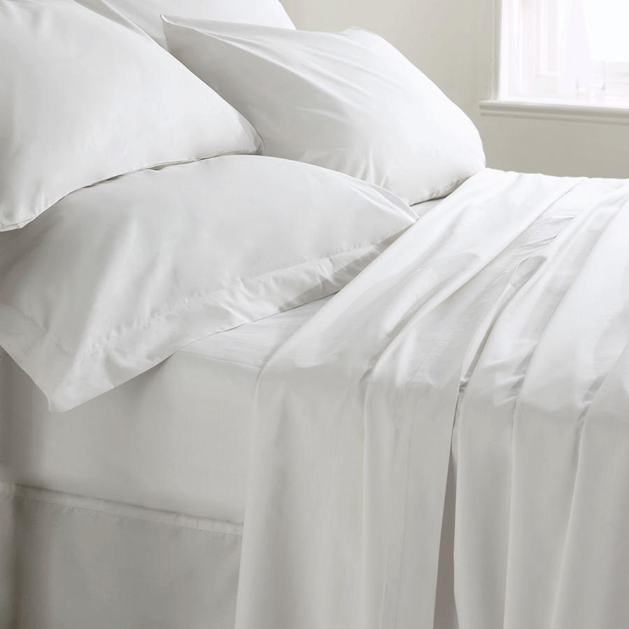 400 Thread Count Fitted Sheet, Double