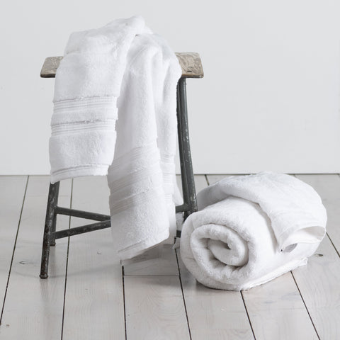 800 GSM Hand Towel (100% Turkish Pima Cotton) in white, silver or magnesium