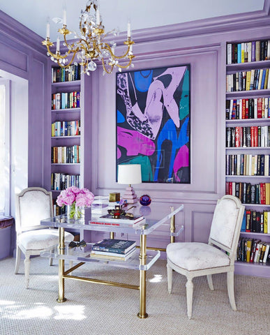 Even Though Pantones 2018 Color Of The Year Is Ultra Violet And Were Bound To See Lots Interiors Home Accessories In This Tone As You Can