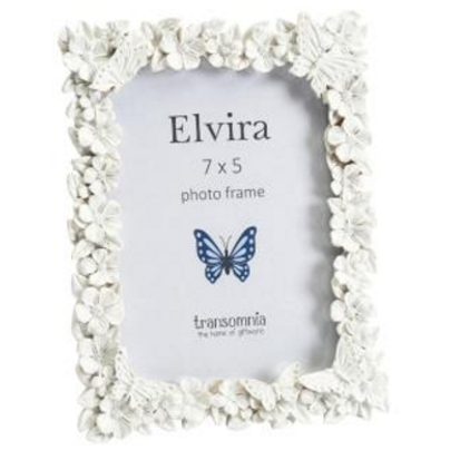 Elvira Butterflies and Flowers Frame - LX Crafts Co