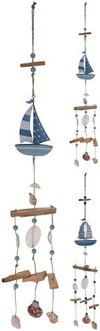 Boat Windchime - LX Crafts Co