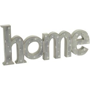 Ditsy Daisy Wooden HOME Sign - LX Crafts Co