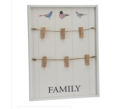 Family Photo Board - LX Crafts Co