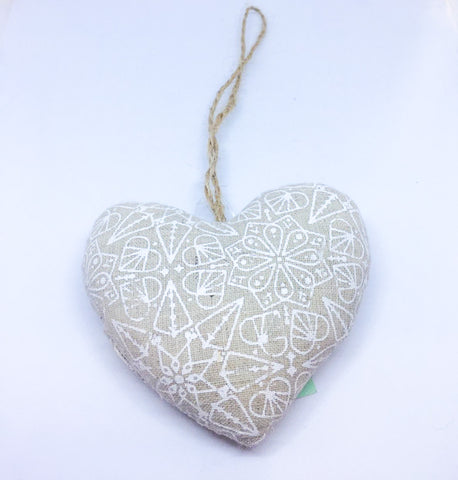 Xmas Decoration Beige & white - LX Crafts Co
