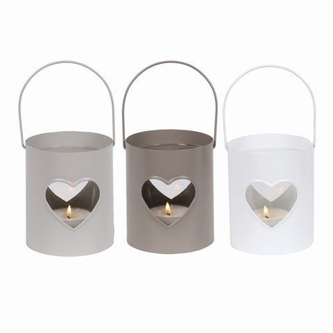 Metal Heart Lantern - LX Crafts Co