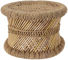 Rattan Stool - LX Crafts Co