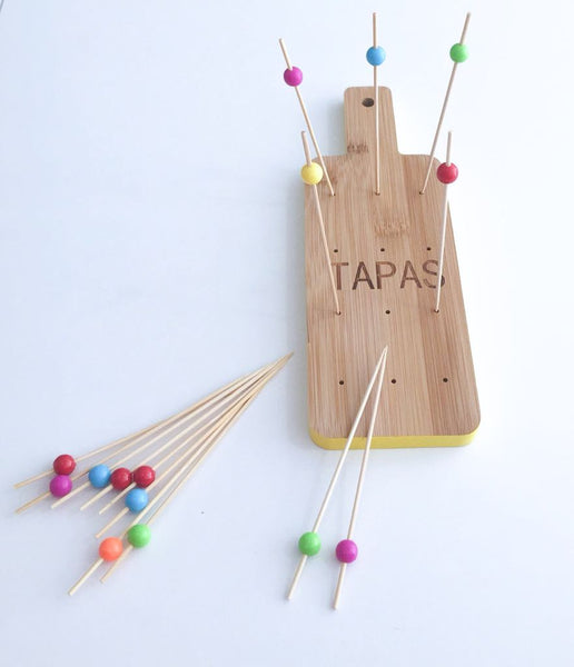 Bamboo Tray Tapas Set - LX Crafts Co