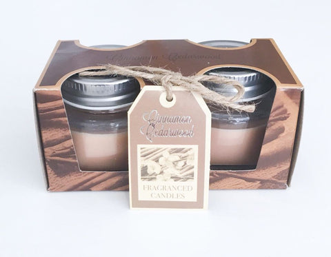 Set of 2 Scented Candles - LX Crafts Co