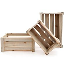 Wooden Crates - LX Crafts Co