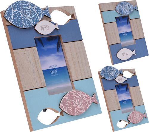 Wooden Fish Photo Frame - LX Crafts Co