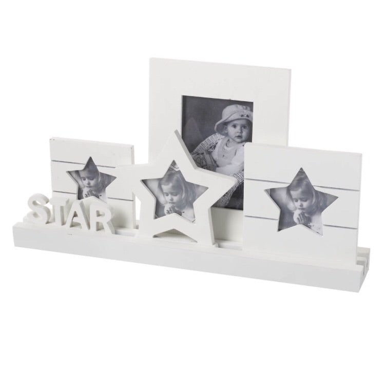 Star Plaque with Frames - LX Crafts Co