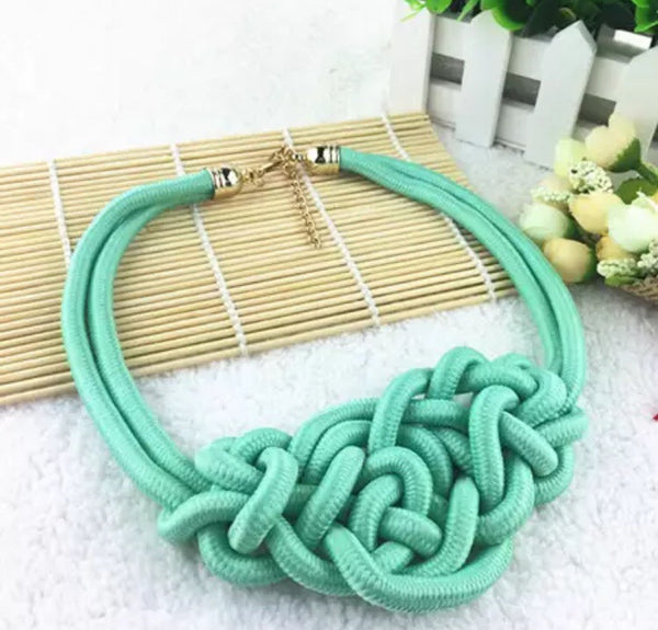 Rope Necklace - LX Crafts Co