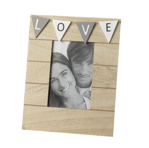 Wooden Love Frame - LX Crafts Co
