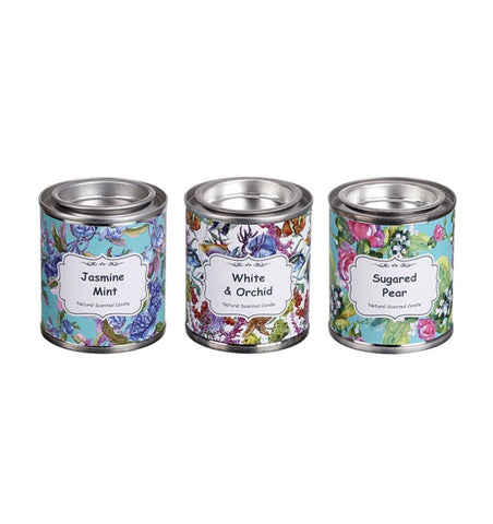 Scented Tin Candles - LX Crafts Co