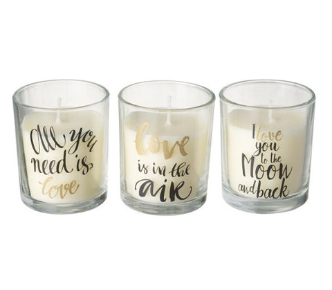 Love Scented Candles - LX Crafts Co