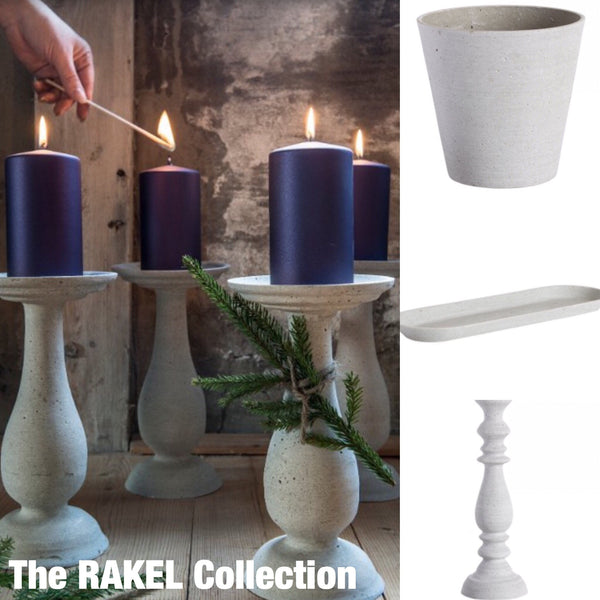 RAKEL Oval Candle Tray - LX Crafts Co
