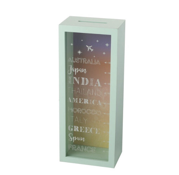 JUST IN | Tall Travelling Money Box - LX Crafts Co