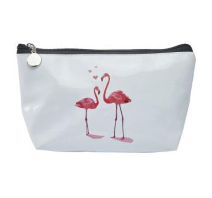 Flamingo Make-Up Bag - LX Crafts Co