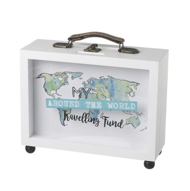 Travel Money/Memory Box Suitcase - LX Crafts Co