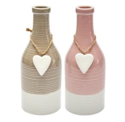 AMELIA Heart Vase - LX Crafts Co