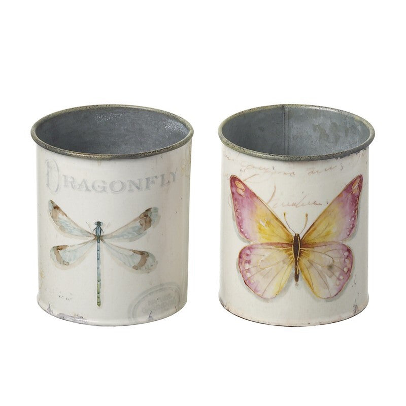Dragonfly & Butterfly Pots - LX Crafts Co