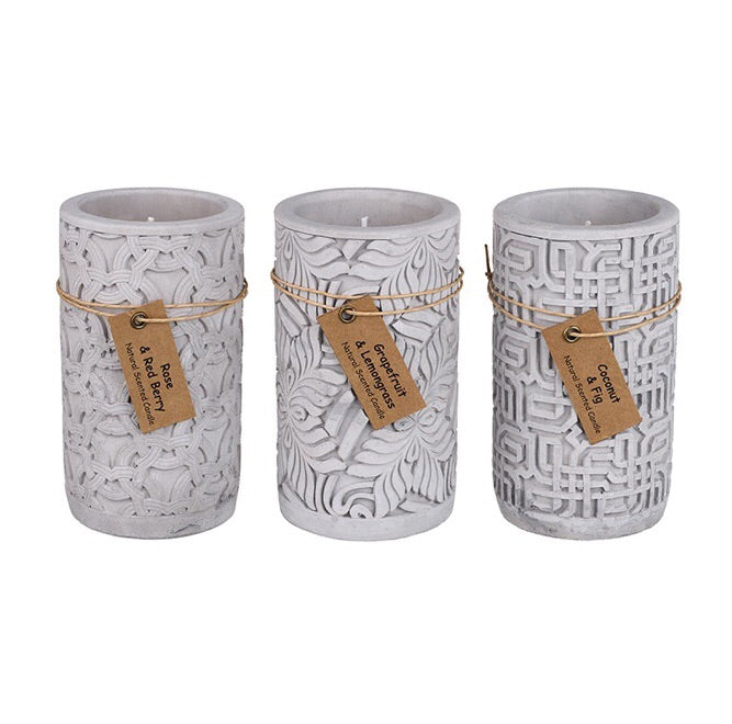 Scented Patterned Candles - LX Crafts Co