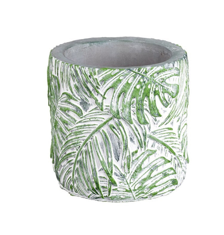 COMING SOON | Jungle Green Plant Pot - LX Crafts Co
