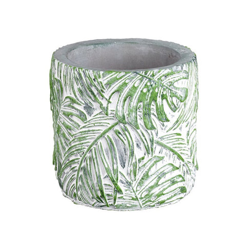 Jungle Green Plant Pot - LX Crafts Co