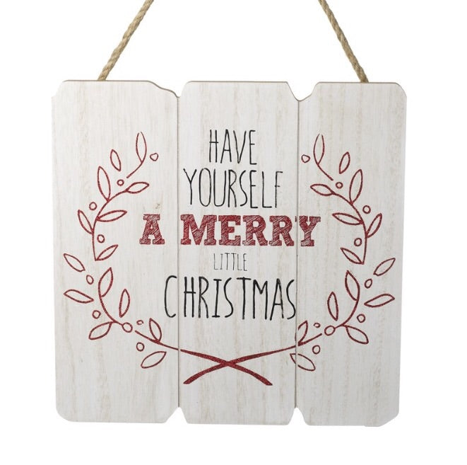 Have Yourself a Merry Little Xmas Plaque - LX Crafts Co