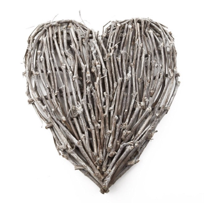 Very Large Twig Heart - LX Crafts Co